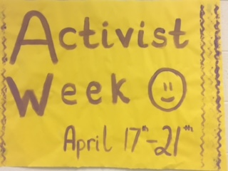 WBHS Prepares for Annual Activist Week