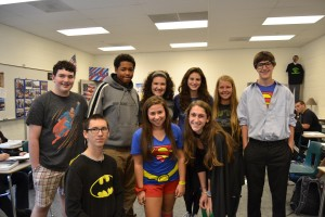 Left to right, top to bottom:  Jack Rabit, Eral MacAdoo, Jenna Diclemente, Liza Durack, Emily Vorce, Jack Reed, Nick Stanfel, Peri Applefield, and Olivia Krieger.