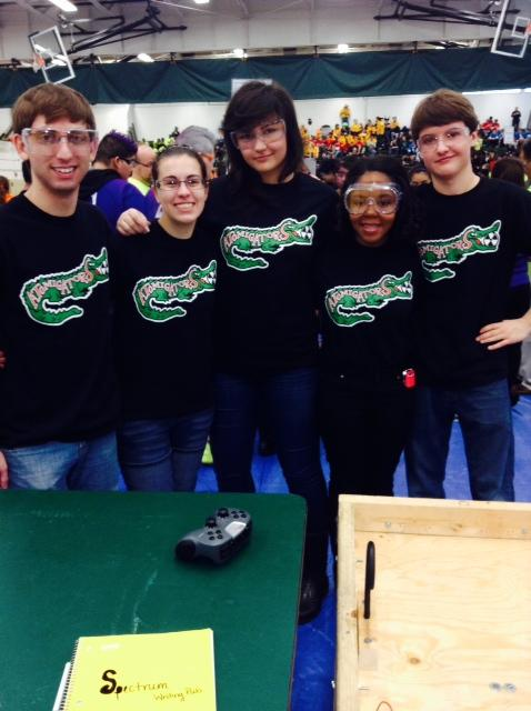 Robotics+Team+at+Competetions+