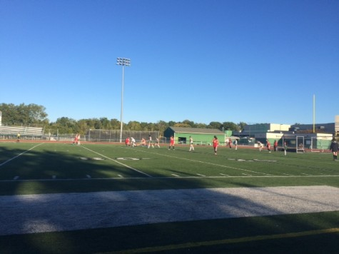 The West Bloomfield JV Field Hockey team in action!
