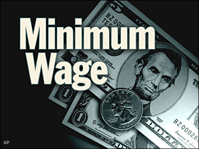 Labor day increase in minimum wage making an impact on students' lives