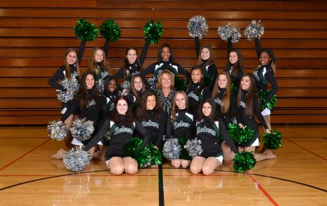 Dancing With the Lakers: West Bloomfield High School's Poms Seniors!