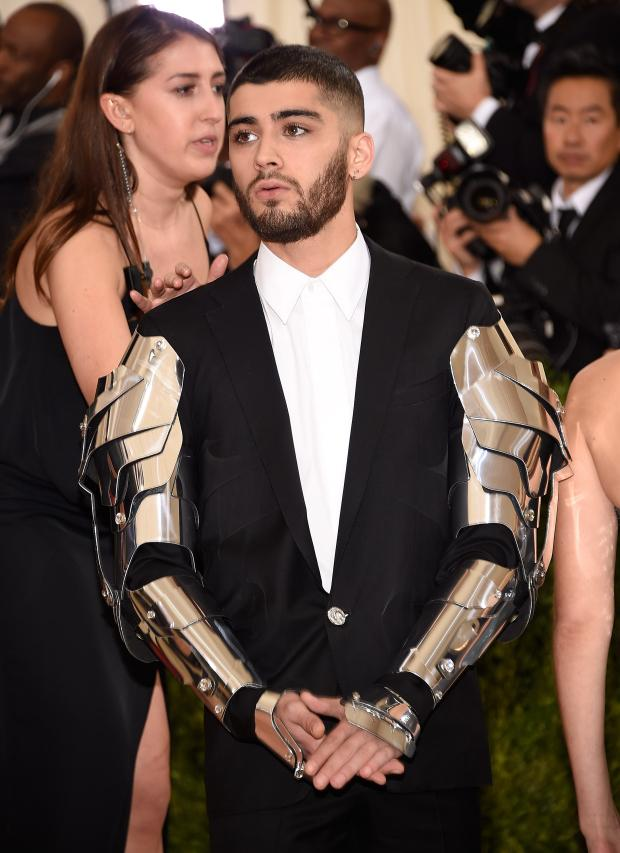 Did Zayn leave One Direction to star in the new production of RoboCop?