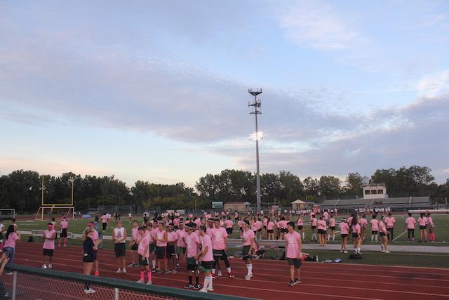 Senior Girls Dominate Powderpuff Game
