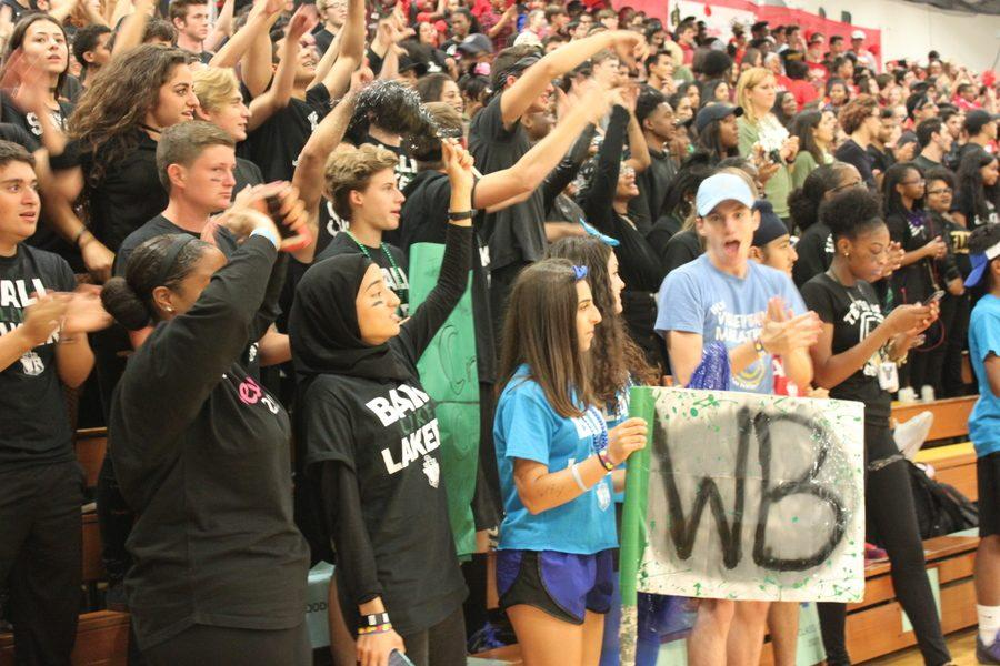 Students Get Into Spirit at Annual Homecoming Pep Rally