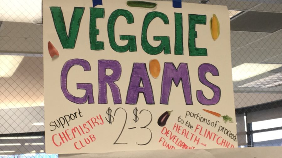 WBHS Chem Club Sells Veggie Grams