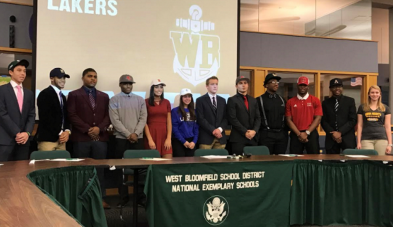 Laker+Athletes+Celebrate+Signing+Day