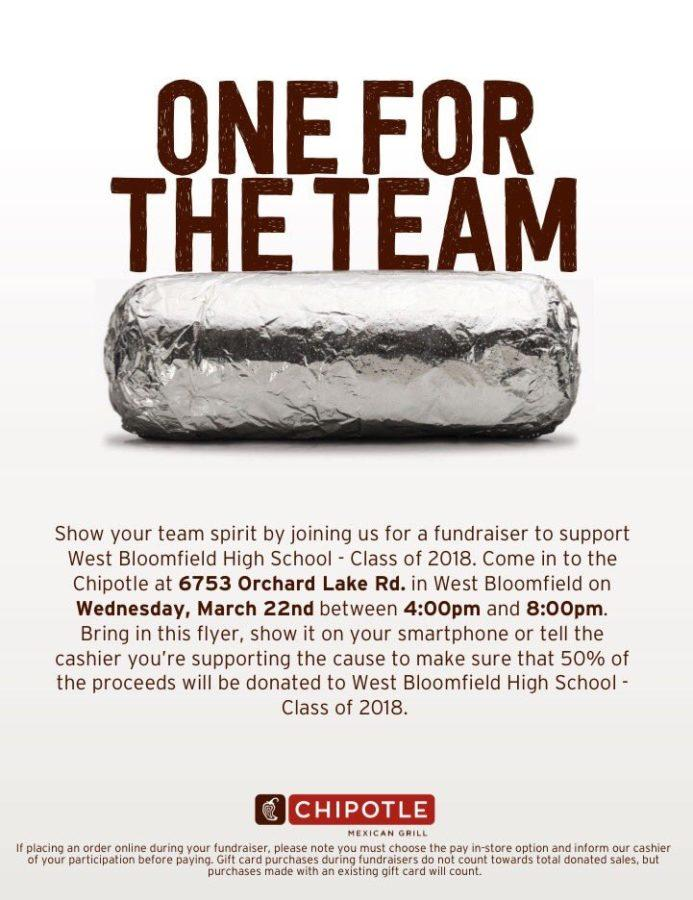 Chipotle For The Class of 2018