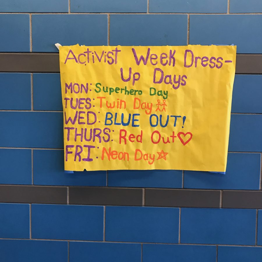 Students Make a Difference During Activist Week