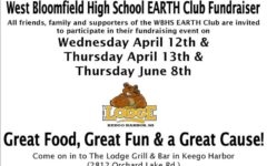 EARTH Club Fundraiser!