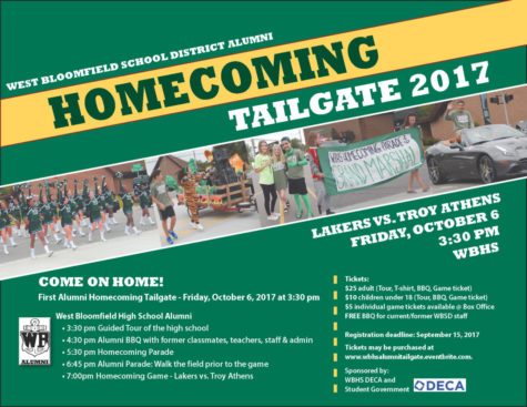 First annual alumni tailgate to take place at WBHS Homecoming