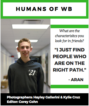 Humans Of West Bloomfield High School #1