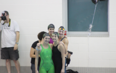 WBHS Varsity Girl's Swim finishes the season strong
