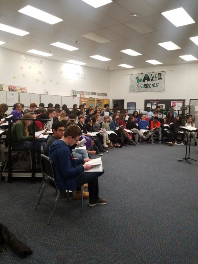 WBHS Theatre prepares for spring musical