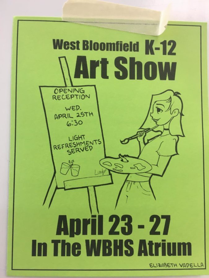 District-wide Art Show to take place at WBHS