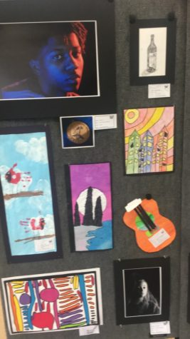 Visual Arts Show Enlightens Students of WBHS