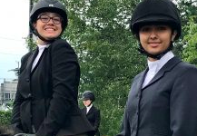 Equestrian Team Gallops to 3rd Place