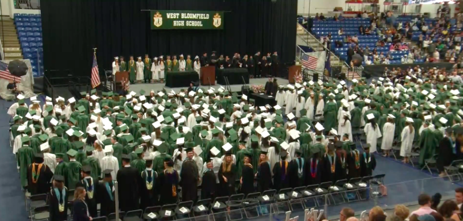 WBHS graduating class of 2018 Credit to: CivicCenterTV
