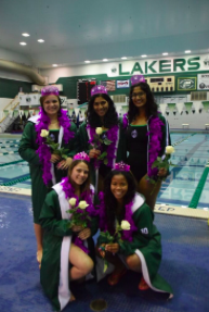 Lady Lakers Celebrate Last Home Meet