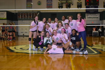 Varsity Volleyball Goes Through Season Undefeated