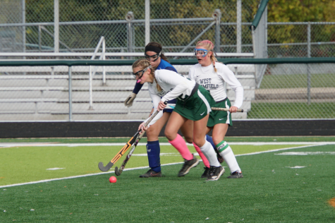 Field Hockey Finishes the Season with a Win
