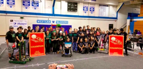 WBHS Robotics Team Places First in OCCRA